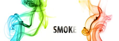 Spławowy dym Obrazy Royalty Free