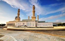 Spławowy meczet w Kot Kinabalu Obrazy Royalty Free