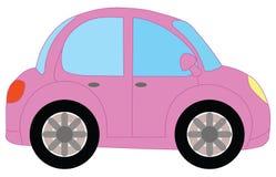 SP cor-de-rosa de Mazda 3 ilustração stock