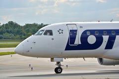 SP-LDI全部飞机 免版税库存图片