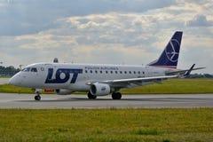 SP-LDI全部飞机 免版税图库摄影