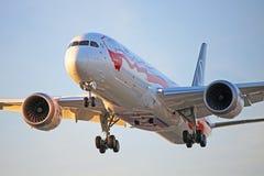 SP-LSC : LOT Polish Airlines Boeing 787-9 Dreamliner photos libres de droits