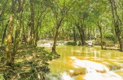 spływowa natury Thailand woda Fotografia Royalty Free