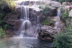 spływowa natury Thailand woda Obraz Stock