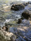 sp?ywowa natury Thailand woda obrazy stock