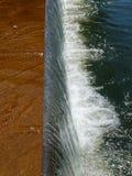 spływowa woda Zdjęcie Royalty Free