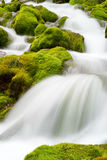 spływowa woda Fotografia Royalty Free