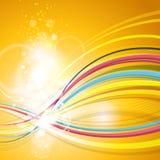 Spaß-abstrakter Partei-Hintergrund vektor abbildung