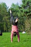 Spaß auf dem Gras Lizenzfreies Stockbild