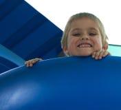 Spaß auf dem Spielplatz haben Stockfotos