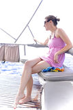 Spaß auf dem Wasser haben Lizenzfreie Stockfotografie