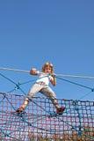 Spaß auf den Seilen Stockfotografie