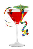 Spaß-Cocktail stockbild