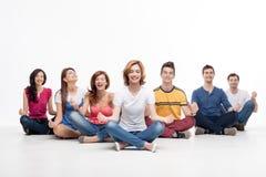 Spaß an der Meditation Lizenzfreies Stockbild