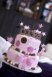 Spaß-Diva-Kuchen in der Bäckerei Stockfotografie