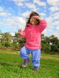 Spaß in einem Park Stockbild