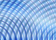 Spaß-flippiger blauer Radialhintergrund oder Hintergrund Lizenzfreie Stockfotografie
