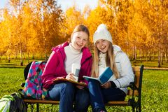 Spaß im Park Lizenzfreie Stockfotos