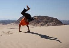 Spaß im Sand Lizenzfreie Stockfotos