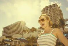 Spaß im Sun Stockfoto