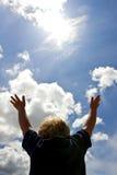 Spaß im Sun Stockbilder