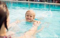 Spaß im Wasser Lizenzfreies Stockfoto