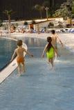 Spaß im Wasser Lizenzfreie Stockfotografie