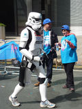 Spaß-Läufer London Marathon am 22. April 2012 Lizenzfreies Stockfoto