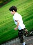 Spaß laufen schnell Lizenzfreies Stockfoto