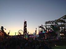 Spaß-Messe-Lichter Stockbilder