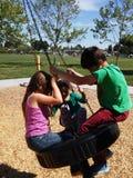 Spaß am Park Lizenzfreie Stockfotos