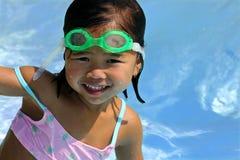Spaß am Pool Lizenzfreies Stockfoto