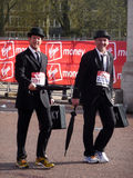 Spaß-Seitentriebe am London-Marathon 25. April 2010 Lizenzfreie Stockfotos