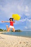Spaß am Strand 23 Lizenzfreies Stockfoto