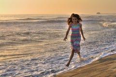 Spaß am Strand lizenzfreies stockfoto