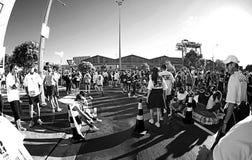 Spaß-Weg und Lauf-Auckland Stockfotografie