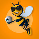 Spaßbiene stock abbildung