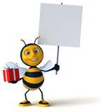 Spaßbiene Lizenzfreies Stockfoto