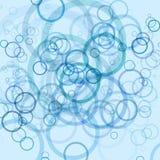 Spaßblauhintergrund Stockbild