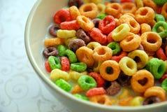 Spaßnahrungsmittelfrühstück Stockfoto