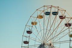 SpaßRiesenrad Stockbild