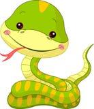 Spaßzoo. Schlange vektor abbildung