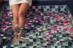 SPA για τα πόδια Στοκ εικόνα με δικαίωμα ελεύθερης χρήσης