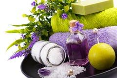 SPA και ρύθμιση wellness Στοκ Εικόνες