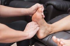 SPA και ταϊλανδικό μασάζ ποδιών Στοκ Φωτογραφία