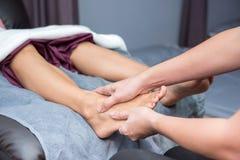 SPA και ταϊλανδικό μασάζ ποδιών Στοκ Εικόνες