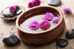SPA και aromatherapy σύνολο Στοκ Φωτογραφία