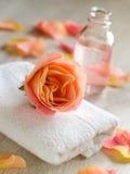 SPA και aromatherapy σύνολο Στοκ Εικόνες