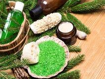 SPA και pampering προϊόντα και εξαρτήματα Στοκ Εικόνα