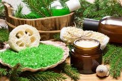 SPA και pampering προϊόντα και εξαρτήματα Στοκ εικόνες με δικαίωμα ελεύθερης χρήσης